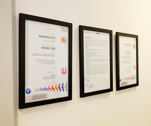 ISO Certificates - Eaglescience